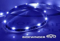 CIPA 93307 EVO Formance LED Sidewinder Eyebrows 30cm- Blue