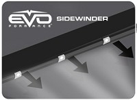 CIPA 93319 EVO Formance LED Sidewinder Eyebrows 30cm- White