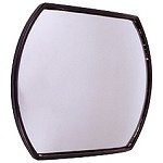 "CIPA 49402 Oblong 4"" X 5.5"" Stick-On Convex HotSpot Mirror"