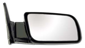 CIPA 56000 Original Style Replacement Mirror Chevrolet/GMC Manual Foldaway Non-Heated Black